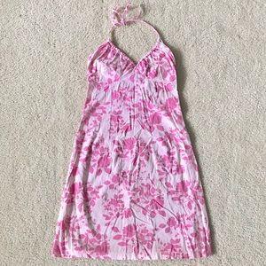 H&M Pink Floral Halter Sundress Size 4
